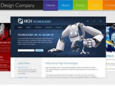 ฟรี เทมเพลต สร้างเว็บไซต์ สำหรับบริษัท