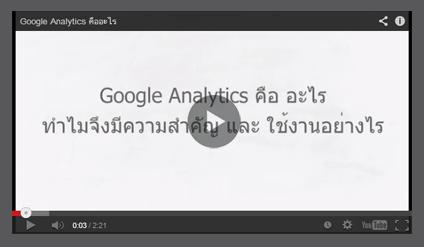 ภาพตัวอย่างGoogleAnalyticเมื่อซื้อบริการรับทำเว็บไซต์และรับออกแบบเว็บไซต์กับเรา