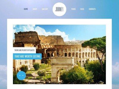 ภาพตัวอย่าง-ฟรี Template สร้างเว็บไซต์ สำหรับธุรกิจท่องเที่ยว