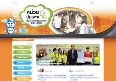 ภาพตัวอย่างทำเว็บไซต์บริษัท| รับทำเว็บไซต์,ออกแบบเว็บไซต์,ทำเว็บ เว็บไซต์ราชการศูนย์บ่มเพาะวิสาหกิจ PSU